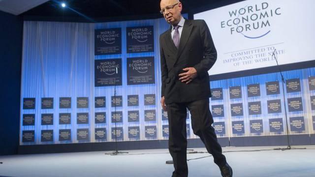 Klaus Schwab ist Gründer des World Economic Forum (Archiv)