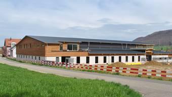 Im Sommer soll die neue Anlage im Gebiet Bluemet bezogen werden.