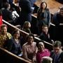"""Diese Frauen haben es geschafft: Als """"historisch"""" kann das Ergebnis der US-Wahlen im November bezeichnet werden. Sowohl im Repäsentantenhaus  als auch im Senat erhöhte sich der Frauenanteil deutlich. Weltweit ist der Frauenanteil in nationalen Parlamenten aber weiterhin gering. (Archivbild)"""