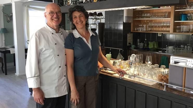 This Kundert und Esther Stieger freuen sich auf ihre Gäste. mei