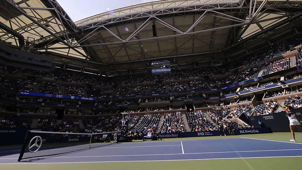 In New York sollen von Mitte August bis Mitte September einige Tennismatches stattfinden – aber ohne Zuschauer in den Tribünen.