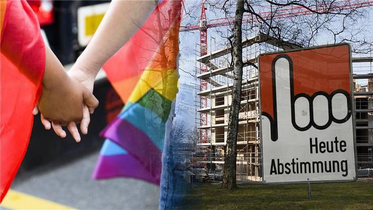 Abgestimmt wird über mehr günstigen Wohnraum und ein neues Gesetz gegen Diskriminierung und Hetze gegen Schwule und Lesben.