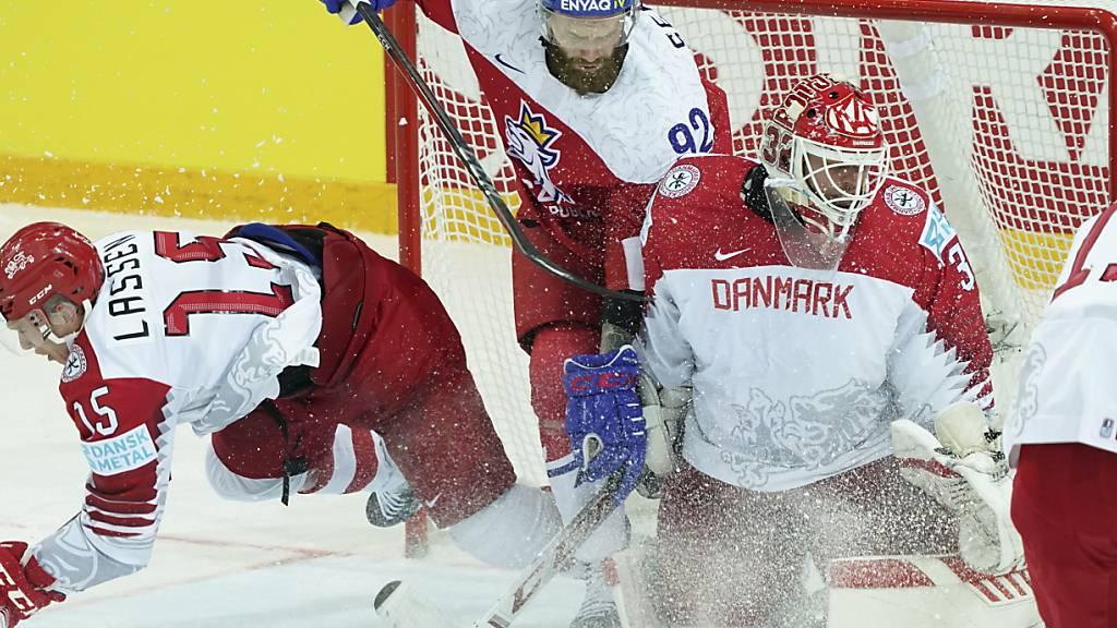 Jiri Sekac (92) in Aktion bei der letzten WM in Riga gegen Dänemark