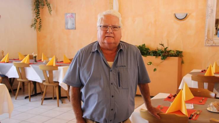 Klingnau, 12. Oktober: Stefano Picone übergibt die Hotel-Pizzeria Picone's seinen Kindern.