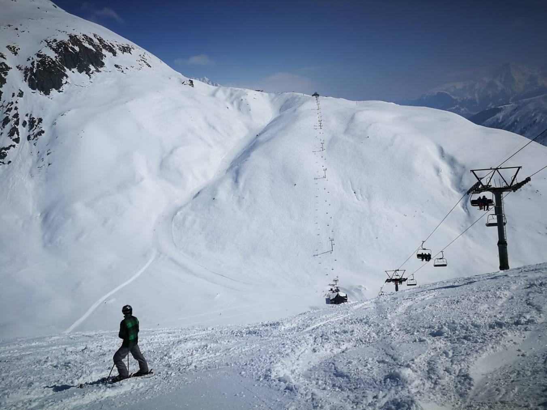 In Der Skiarena Andermatt-Sedrun