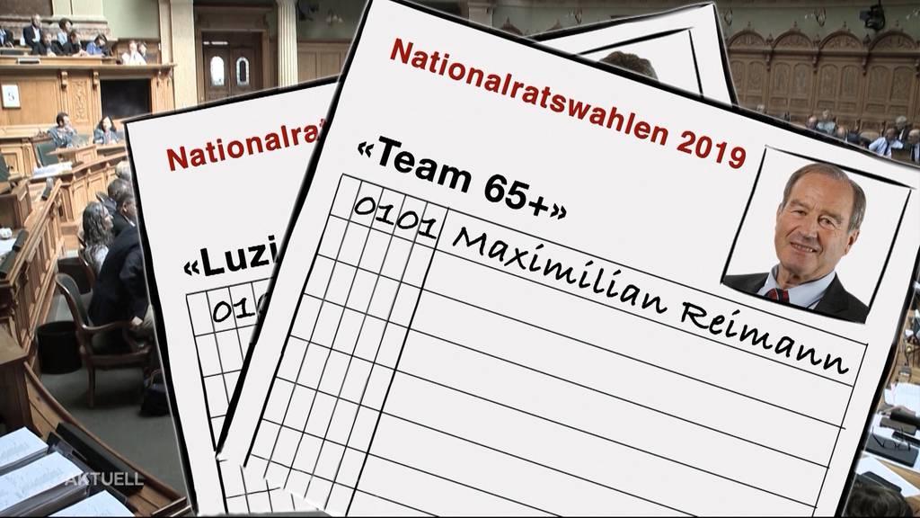 Luzi Stamm kandidiert erneut für den Nationalrat