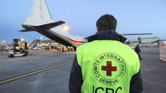 Beladen von IKRK-Hilfsgütern in Genf (Archiv)