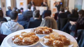 Die CVP lud die Medienschaffenden am Donnerstag zum Dreikönigsapéro. Sie will sich im Wahljahr 2019 für eine starke Mittepolitik einsetzen.