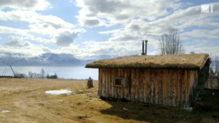 Das Holzhaus, in dem die Kilchers lebten