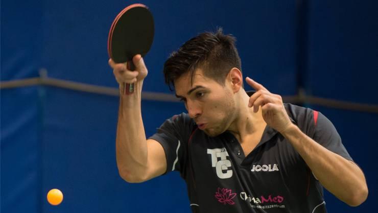 Medaillenkandidat: Christian Hotz bietet neu auch Tischtennis-Events an.