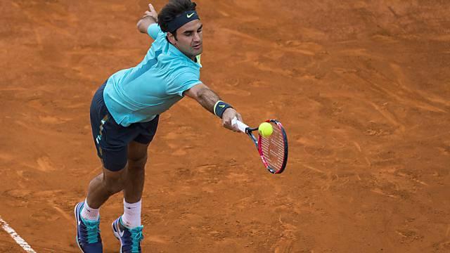 Braucht noch Spielpraxis auf Sand: Roger Federer