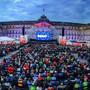Der «Tatort» als Grossereignis: 4000 Menschen verabschiedeten 2016 auf dem Stuttgarter Schlossplatz die Bodensee-«Tatort»-Kommissarin Klara Blum (Eva Mattes).