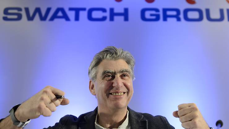 Swatch-Chef Nick Hayek (Archiv)