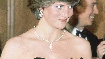 1981 trug sie das legendäre Abendkleid: Die 1997 verstorbene Prinzessin Diana (Archiv)