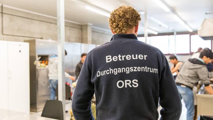 Aktuell leben 145 Asylsuchende in der kantonalen Asylunterkunft in Frick. Damit ist sie nahezu voll belegt.