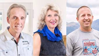 Markus Wopmann, Rosmarie Hochuli und Marco Nyffeler.
