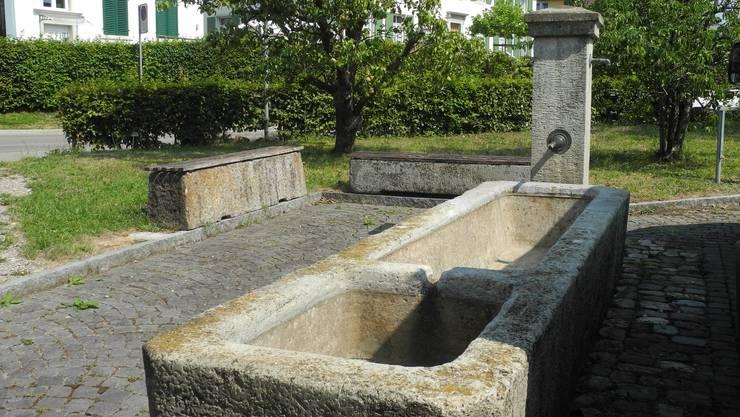 Hitzesommer 2018: Urdorfer Brunnen blieben trocken wegen der Hitze und Trockenheit. (Archiv)