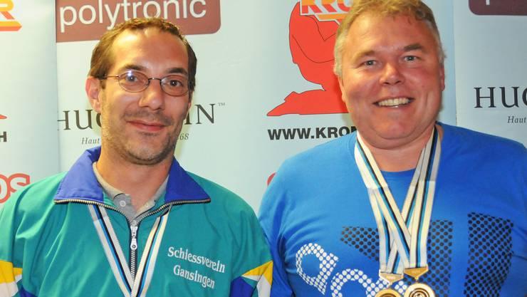 Das Meisterduo Claude Chenaux (links) und Peter Haltiner.