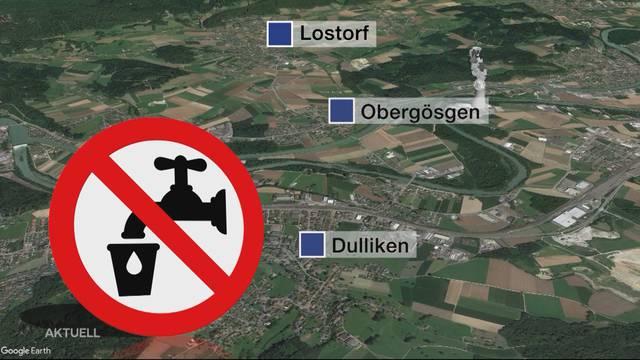 Niederamt: Fäkalbakterien im Trinkwasser