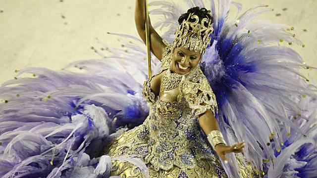 Sambaschule Unidos da Tijuca konnte Jury überzeugen