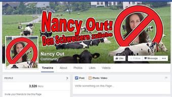 Auf Facebook formiert sich breiter Wiederstand gegen das von Nancy Holten geforderte Kuhglocken verbot.