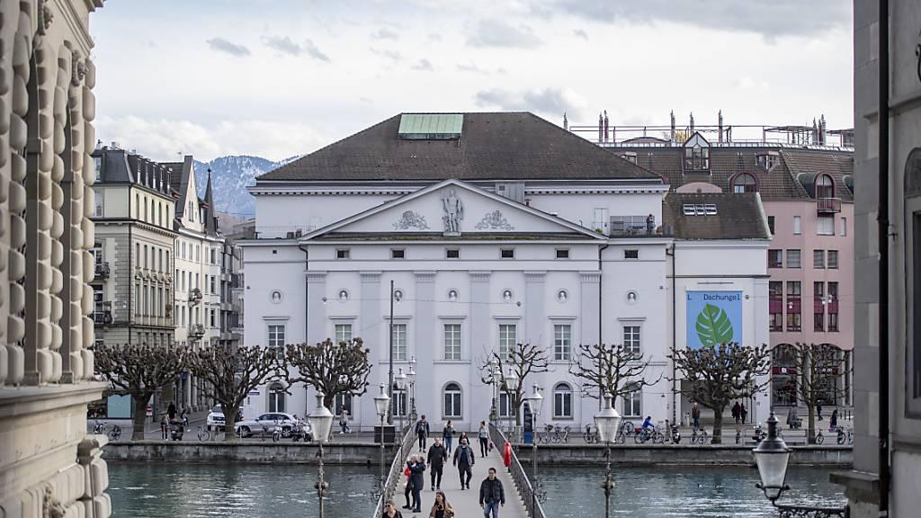 An Neubau des Luzerner Theaters wird festgehalten
