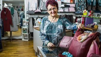 Erika Johler schliesst ihr Mode-Geschäft in Schafisheim.