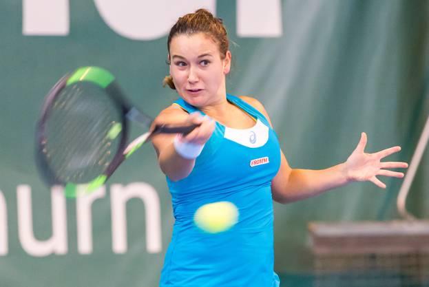 Gut in Form ist Ylena In-Albon. Schon vier Profiturniere hat sie in diesem Jahr gewonnen.