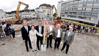 Spatenstich zum Neubau des Berufsbildungszentrums (BBZ) Solothurn-Grenchen