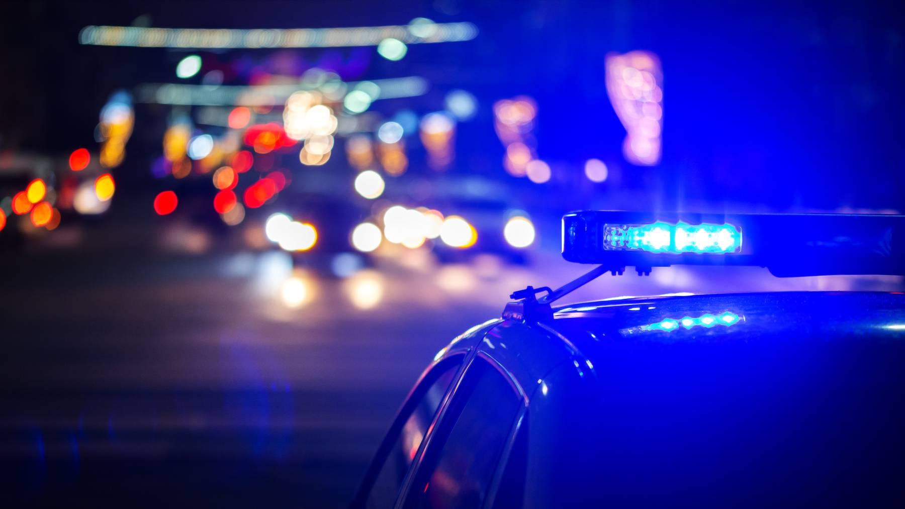 Polizei Blaulicht Kriminalität