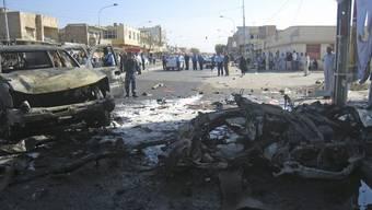 Auch in der Stadt Kirkuk explodierte eine Autobombe