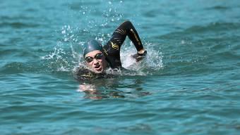 Romano Mombelli verbringt viel Zeit im Wasser.
