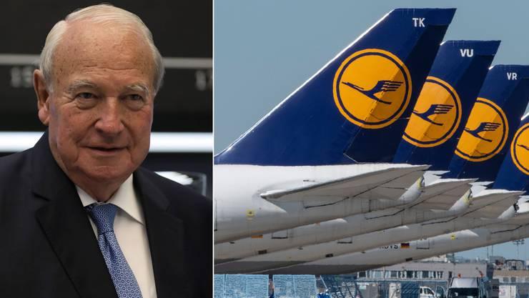 Die Lufthansa steht vor einer entscheidenden Aktionärsversammlung, an der Heinz Hermann Thiele eine entscheidende Rolle spielt,