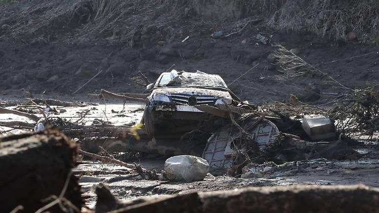 In der Region der kalifornischen Stadt Montecito 150 Kilometer nordwestlich von Los Angeles waren am Dienstag nach heftigem Regen mehrere Schlammlawinen niedergegangen. (Archivbild)