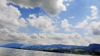 Blick auf den Zürichsee von Stäfä aus (Symbolbild)