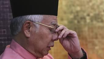 Der Ex-Regierungschef Malaysias, Najib Razak, darf das Land aufgrund von Fluchtgefahr derzeit nicht verlassen.