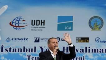 Der türkische Regierungschef Recep Tayyip Erdogan in Istanbul