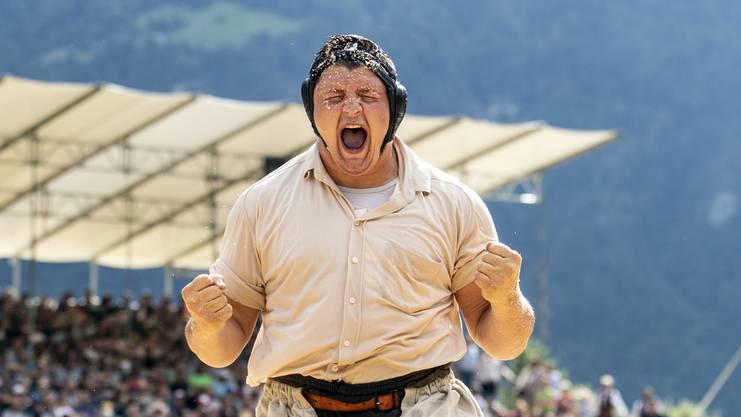 Ein Triumph für die Ewigkeit: Nick Alpiger ist nach seinem Sieg am Innerschweizerische Fest endgültig im Kreis der ganz «Bösen» im Land angekommen.