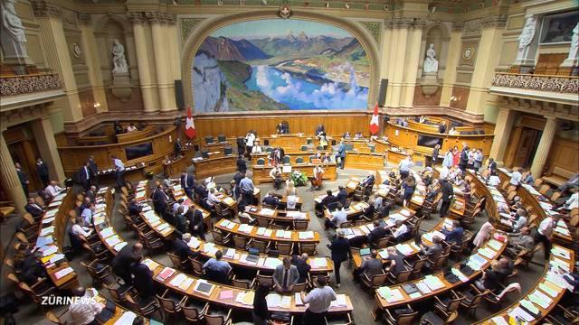 Nationalrat gibt Erklärung zu Syrien ab