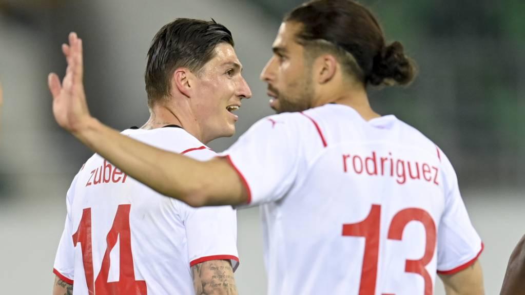 Ricardo Rodriguez schoss zwar den Treffer zum Ausgleich, setzte aber auch einen Penalty neben das Tor