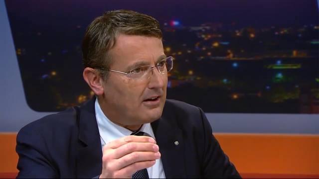 SVP-Nationalrat Thomas Burgherr gab es keine andere Konsequenz als Konradis Rücktritt: «Es braucht als AKB-Chef eine weisse Weste.»