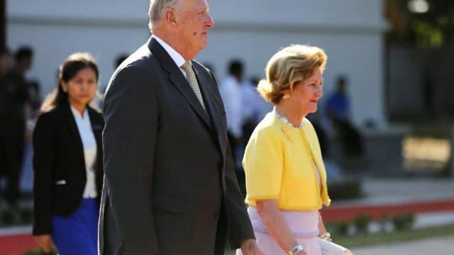 Königin Sonja mit Ehemann Harald (Archiv)