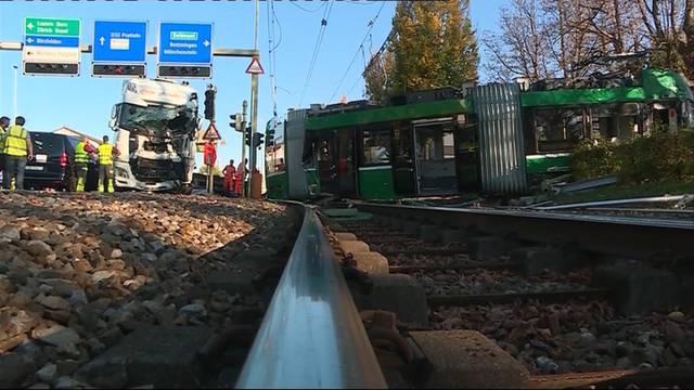 Schwerer Unfall in Muttenz