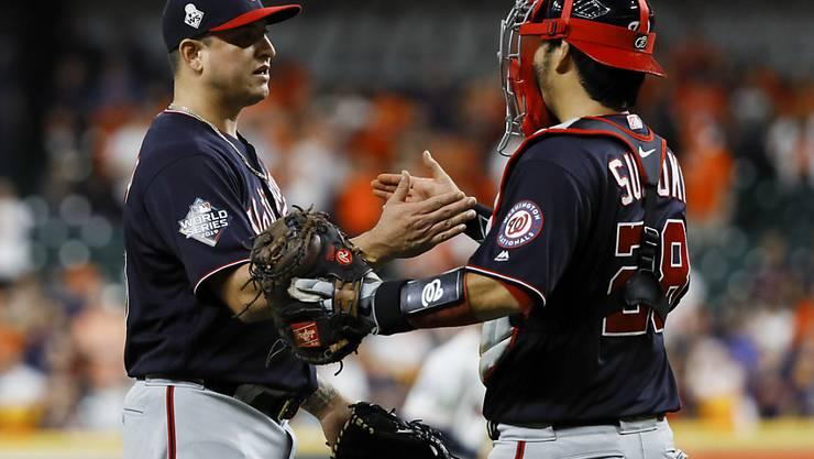 Washington Nationals reihen Sieg an Sieg