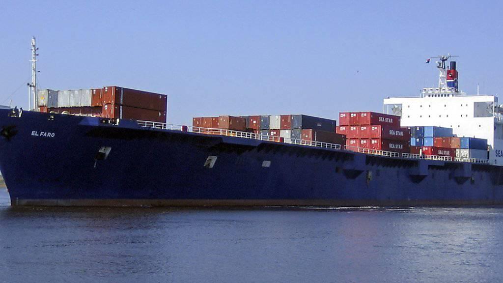 Das Containerschiff El Faro ist vom Radar verschwunden.
