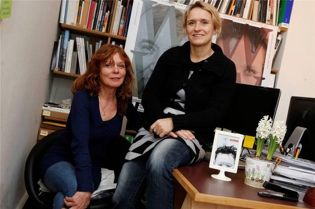 Haben wildwuchs geprägt: Sibylle Ott und Gunda Zeeb.