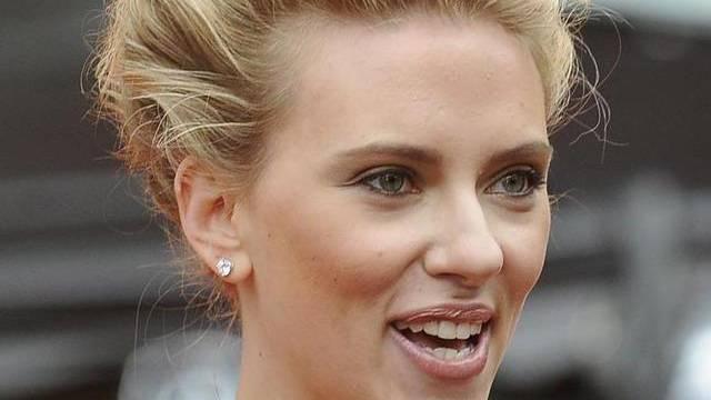 Spontan: Scarlett Johansson springt als Moderatorin ein (Archiv)