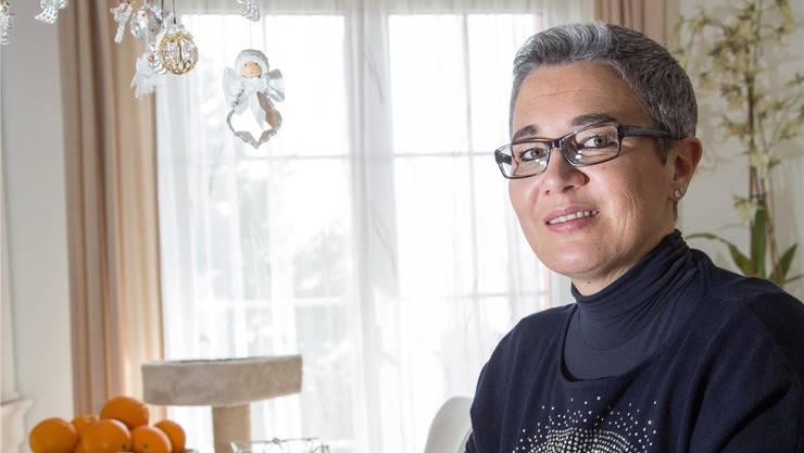 Die 49-jährige Daniela Jäggi hat dank ihrer Tochter die Leidenschaft des Schreibens neu entdeckt. Ak/Archiv