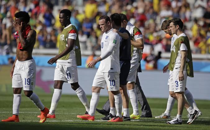 Enttäuschung bei den Engländern