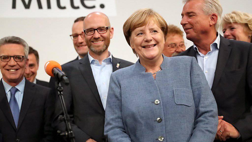 Angela Merkel ist nach der Bundestagswahl in Deutschland die alte und gleichzeitig die neue Bundeskanzlerin.